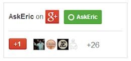 AE Google+ Page Logo