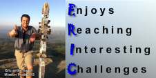 ERIC - Enjoys Reaching Interesting Challenges